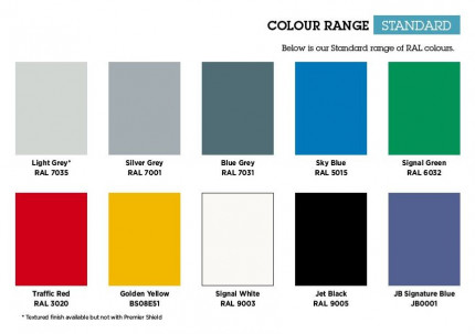 Bedford Locker Colour Range