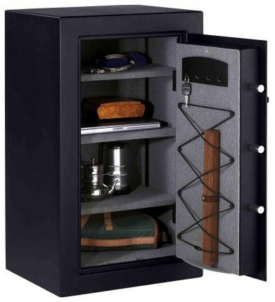 Master Lock T0-331 Digital Electronic Security Safe - door wide open