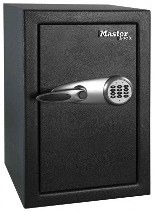 Master Lock T6-331 Digital Electronic Security Safe - door closed