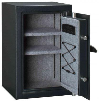 Master Lock T6-331 Digital Electronic Security Safe - door wide open