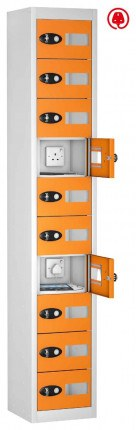 Probe TABBOX 10 Tablet USB Charging Vision Locker - Orange Door