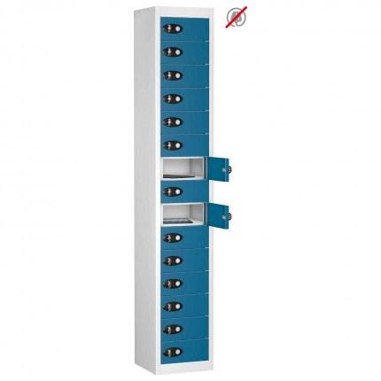 Probe TABBOX 15 Door Tablet Storage Locker in Blue