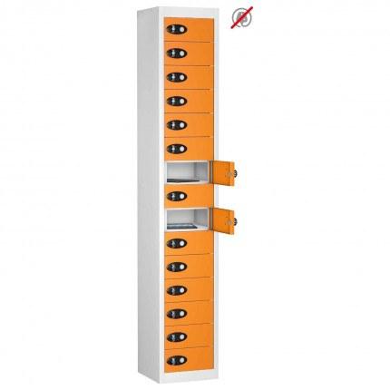Probe TABBOX 15 Door Tablet Storage Locker in Orange