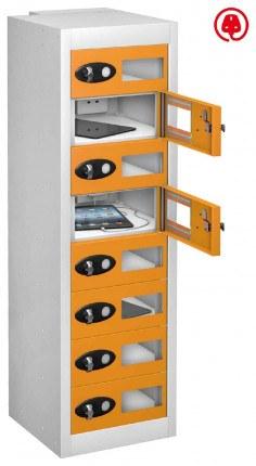 Probe TabBox 8 Tablet USB Charging Vision Locker - Orange Door