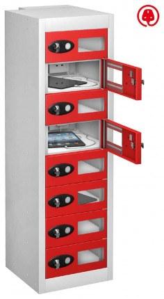 Probe TabBox 8 Tablet USB Charging Vision Locker - Red Door