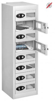 Probe TABBOX 8 Tablet Storage Locker with 8 Vision Doors - white