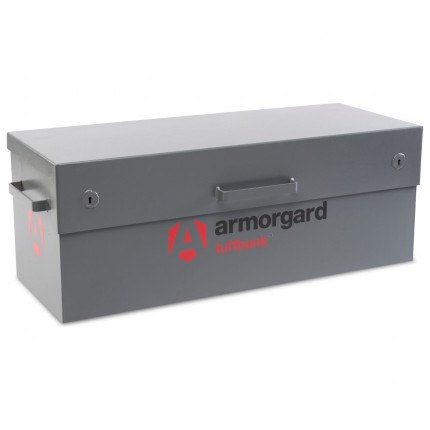 Armorgard TuffBank TB12 closed and secure