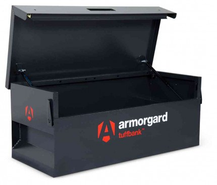 Armorgard Tuffbank TB6 Security Tested Truck Tool Storage Box - open