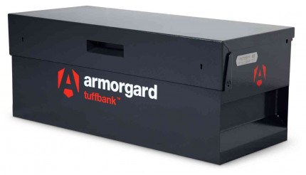 Armorgard Tuffbank TB6 Security Tested Truck Tool Storage Box - closed