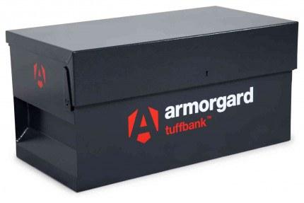 Armorgard Tuffbank Security Van Box TB1 - 920mm wide - closed