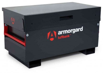 Armorgard Tuffbank TB2 Security Tested Site Tool Storage Box - closed