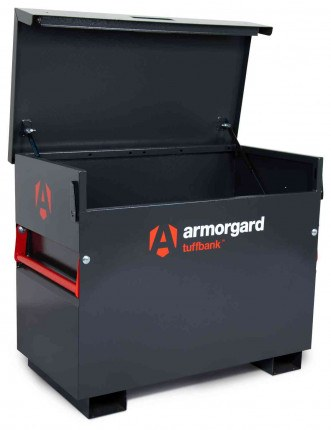 Armorgard Tuffbank TB3 Security Tested Site Tool Storage Box