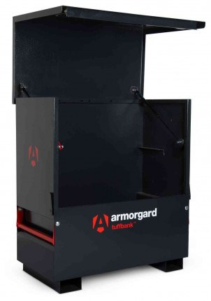Armorgard Tuffbank TBC4 Security Tested Site Tool Chest - empty