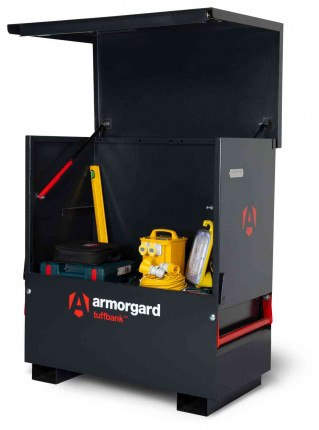 Armorgard Tuffbank TBC4 Security Tested Site Tool Chest - open