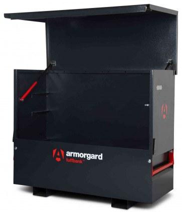 New Armorgard Tuffbank Site Chest TBC5 - 1585mm wide - open