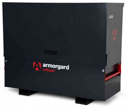 New Armorgard Tuffbank Site Chest TBC5 - 1585mm wide - closed