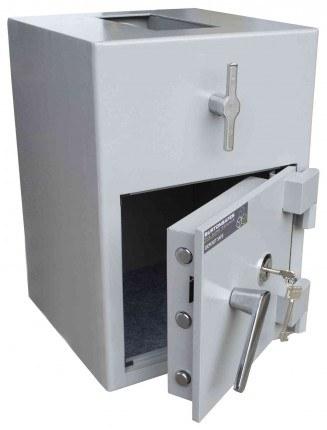 Burton Teller Rotary Drum Deposit Drop Safe Size 1 Key Lock