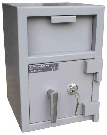 Burton Teller V-Trap Drawer Deposit Safe Size 1 Key Lock