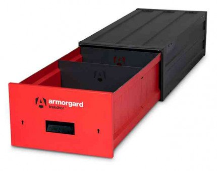 Armorgard Trekdror TKD1 Van Security Tool Storage Lockable Drawer  - open