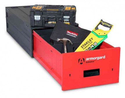 Armorgard Trekdror TKD1 Van Security Tool Storage Lockable Drawer  - with contents