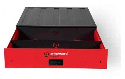 Armorgard Trekdror TKD2 Van Security Tool Storage Lockable Wide Drawer  - with dividers
