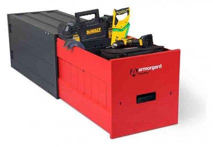 Armorgard Trekdror TKD3 Van Security Tool Storage Locking High Drawer  - with tools