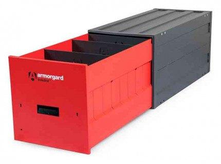Armorgard Trekdror TKD3D Drawer Dividers   Fitted into a TKD3
