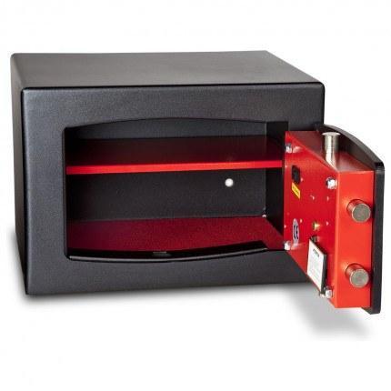 £4000 Cash Digital Security Safe - Burton Torino NMT/4P - door open