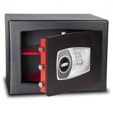 £4000 Cash Digital Security Safe - Burton Torino NMT/5P - door ajar