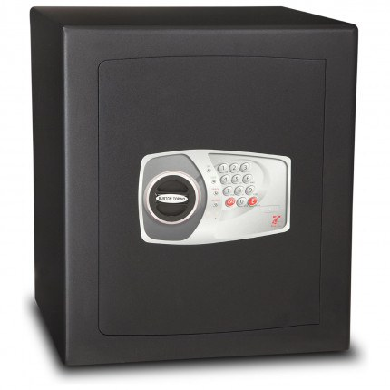 £4000 Cash Digital Security Safe - Burton Torino NMT/7P - door closed