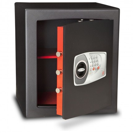 £4000 Cash Digital Security Safe - Burton Torino NMT/7P - door ajar