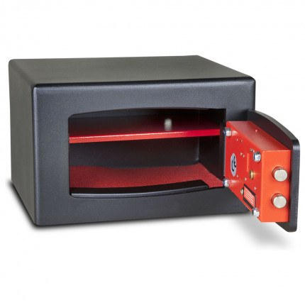 £4000 Cash Digital Security Safe - Burton Torino NMT/3P - door open