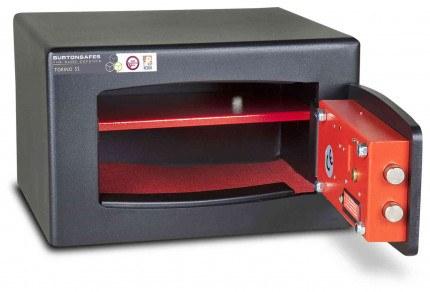£4000 Cash Security Key Safe - Burton Torino S2 NMK/3 - door open