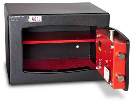 £4000 Cash Security Key Safe - Burton Torino S2 NMK/4 - door open