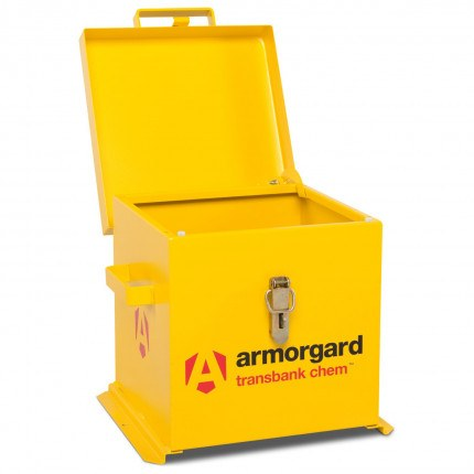 Armorgard Transbank TRB1C Portable Chemical Storage Chest - Open