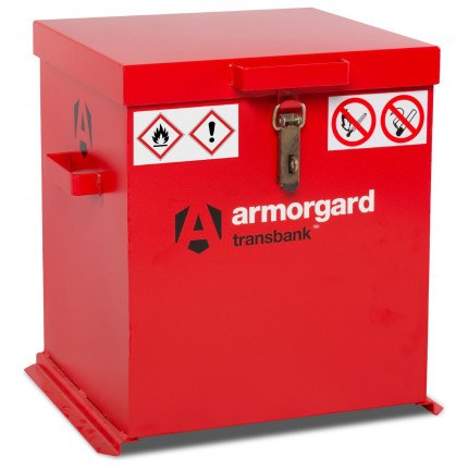 Armorgard Transbank TRB2 Portable Flammable Storage Chest - Closed