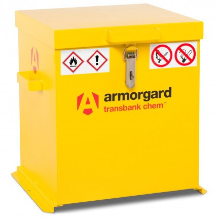 Armorgard Transbank TRB2C Portable Chemical Storage Chest - Closed