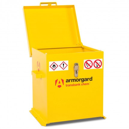 Armorgard Transbank TRB2C Portable Chemical Storage Chest - Open