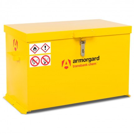 Armorgard Transbank TRB4C Portable Chemical Storage Chest - Closed