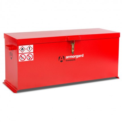 Armorgard Transbank TRB6 Portable Flammable Box 1280mm wide - closed