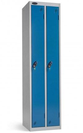 Probe Twin Locker 1780x460x460 Combinationy locking blue door closed