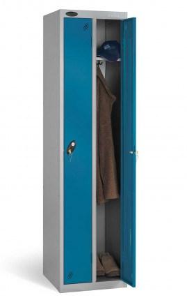Probe Twin Locker 1780x460x460 Combination locking blue door open