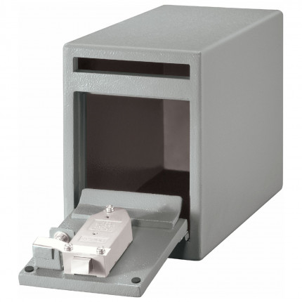 Sentry Drop Slot Deposit Safe UC-025K - Lock View