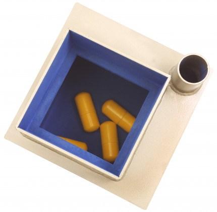 Birds eye view of safe showing capsules in the Phoenix Tarvos UF0403KD