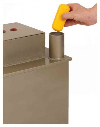 Phoenix Tarvos UF0623KD £2000 Floor Deposit Safe in use