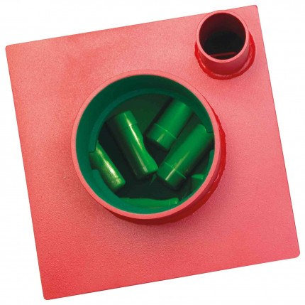 Phoenix Charon UF0973KD ABP £17,500 Underfloor Deposit Security Safe - Showing Capsules inside the safe