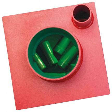 Phoenix Charon UF0963KD ABP £6,000 Underfloor Deposit Security Safe - Showing Capsules inside the safe