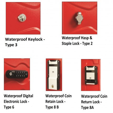 Probe Ultrabox Plus Waterproof Lock Options