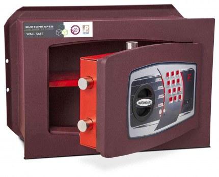 Burton Unica 1E £6,000 Digital Wall Security Safe - door ajar