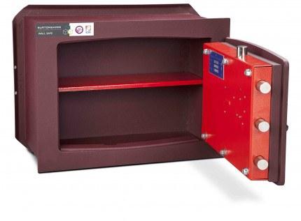 Burton Unica 2E £6,000 Digital Wall Security Safe - door open